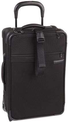 Briggs  Riley 21 Inch CarryOn Expandable UprightBlack215x14x8 -- More info could be found at the image url.
