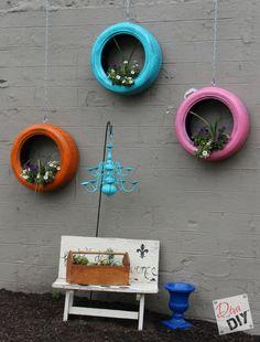 Tire Planters -