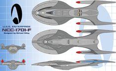 My Enterprise-F Submission by trekmodeler.deviantart.com on @DeviantArt