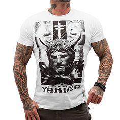 Yakuza Original Herren Demon T-Shirt - Weiß