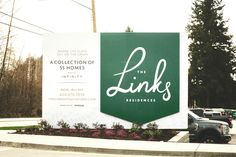 The Links by Infinity Properties - Free Agency Creative Print Design, Graphic Design, Billboard, Vancouver, Signage, Infinity, Environment, Real Estate, Branding