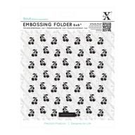 Scrapbooking - Outillages & Rangement Scrap - Docrafts - Embossing Folder - Classeur de gaufrage 6 x 6 -  Cerises
