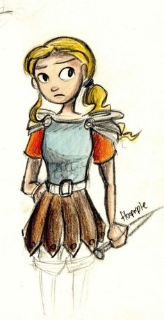 Annabeth Chase.... Younger.....