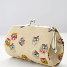 owl purse fabric