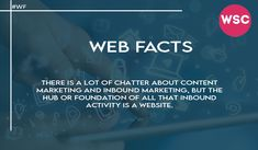 There is a lot of chatter about content marketing and inbound marketing, but the hub or foundation of all that inbound activity is a website. Email : sales@websolutionscompany.com.au #WebsiteDesignMelbourne #WebsiteDesignAgencyMelbourne #WebsiteDesignCompanyinMelbourne #WebDesignSydneyWebsiteDesign #WebDesignSydneyWebsiteDesignBrisbane #WebsiteDesignBrisbane #WebsiteDesignPerth #websolutionscompany #wsc Inbound Marketing, Content Marketing, Brisbane, Melbourne, Immigration Help, Affordable Website Design, Marketing Channel, Website Design Company, Web Design Agency