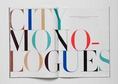 City monologues