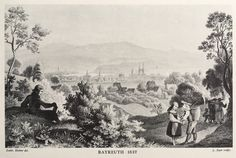 Bayreuth, Germany.  1837