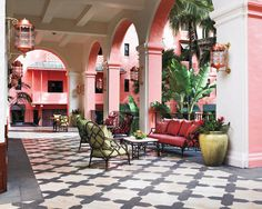 the Royal Hawaiian hotel.