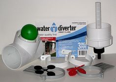 Downspout First Flush Water Diverter Kits