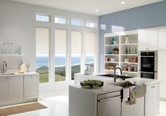 Get that fresh look in your kitchen area with our elegant designed blinds. These blinds are #wirefree #wireless #nowires #remotecontrol #smartphoneapp #tabletapp #noelectricianrequired #childsafe #cordless #largewindows #smallwindows #windowblinds #windowshades #windowcoveringsolution #prettywindows #childfriendly #smartblinds #homedesign #kitchenblinds #interiordesign #redesign #bathroomblinds #bedroomblinds #lounge