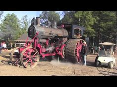 Steam Plowing - YouTube