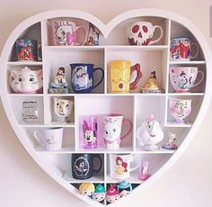 I love Disney mugs and I especially love fun ways to display them! I love Disney mugs and I especially love fun ways to display them!