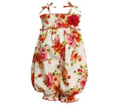 eTree Little Baby Girls Trousers Embroidery Knitting Floral Denim Pants