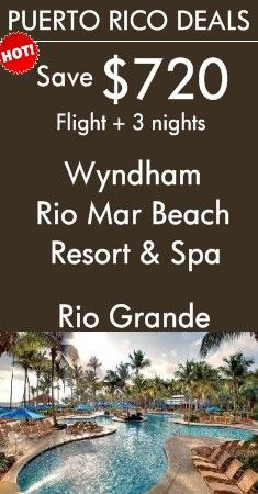 Puerto Rico - Rio Grande: Wyndham Rio Mar Beach Resort & Spa | Touted as the Caribbean's premiere golf resort and home to two world-class golf courses! View All Caribbean Vacation Packages!