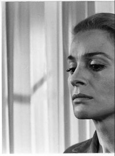 "Ingrid Thulin as Ester in ""The Silence"""