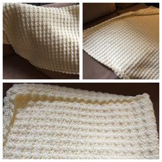 From leeleeknits.com vintage baby blanket. Alize happy baby 5 skeins, 4.5mm hook, 144+2 ch to start.