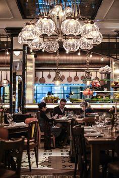 Toto Restaurant in Barcelona. Amazing interior design