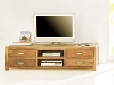 Gemütlich und Modern wird es mit dem SIT Wiam TV Lowboard aus hochwertigem Sheesham Holz.