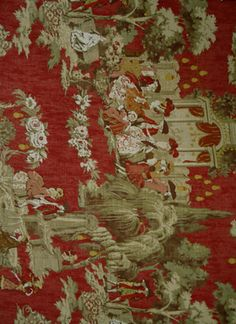 Covington Fabric - Vauxhall, Henna Red