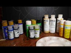 (14) How to paint rock mandalas #14- Part One- large canvas practice - YouTube