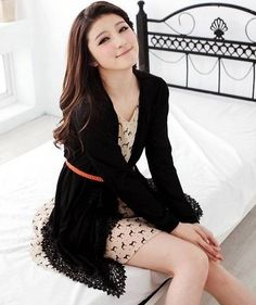 Cute Korean Cardigan 2013 Trends For Winter 2013 Pictures