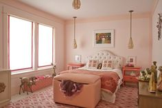 Piper's Adorable Pink Bedroom