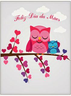 Dia das Mães - cartão para download
