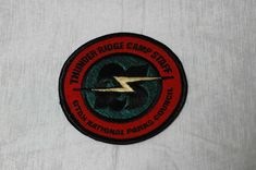 Thunder Ridge Camp Staff Patch Scouts Utah National Parks Council