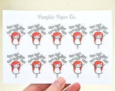 Payday stickers Erin Condren planner stickers by PumpkinPaperCo