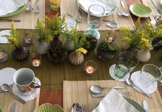 Brunch table decor
