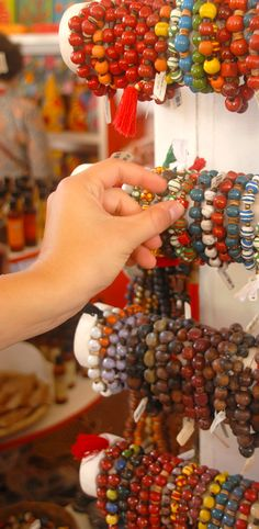 The artisan craft market in Labadee, Haiti is the perfect place to pick up a souvenir (or three). Pro tip: bring your US dollars, since it's a cash only market.
