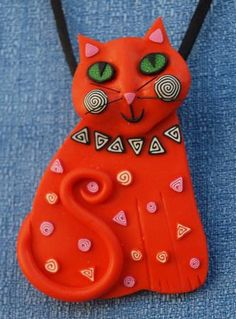Trina's Trinketts: Melody O Designs - Wearable Art from Polymer Clay