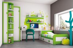 Diply.com - The Coolest Kid Bedrooms That They Won't Grow Out Of!