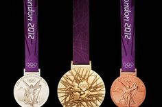 Olympic 2012 Medals #gold #silver #bronze #olympics