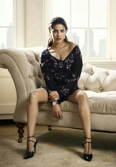 "Photo from album ""Фотосессия Priyanka Chopra (Harper's Bazaar India, сентябрь on Yandex. Actress Priyanka Chopra, Priyanka Chopra Hot, Anushka Sharma, Bollywood Actress Hot Photos, Bollywood Fashion, Indian Celebrities, Bollywood Celebrities, Nylons, Sublime Creature"