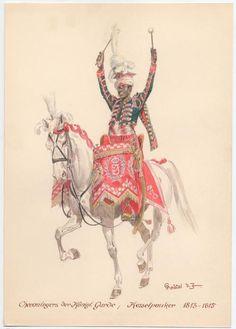 Timpanista dei cavalleggeri del regno di Napoli