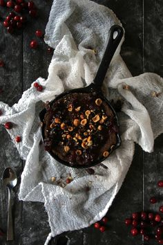Cranberry Semolina Skillet Cake | The Otium