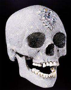 damien hurst 'For the Love of God' diamond-skull