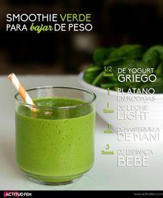 Smoothie verde para