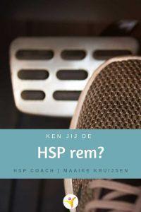 Waarom HSP eerst even op de rem gaan staan   Maaike Kruijsen, HSP coach Om, England, Psychology, English, British, United Kingdom