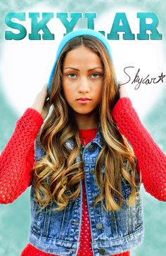 "Skylar Stecker Poster signed individually by Skylar, 24"" x 36"" *Since Skylar is very busy, signed posters may take longer to ship"