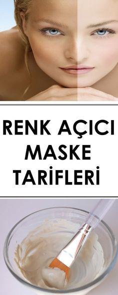 RENK AÇICI MASKE TARİFLERİ