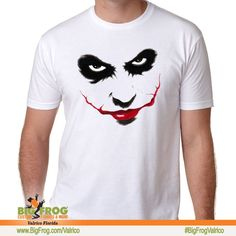 9b6a6dbcf The joker custom shirt. At Big Frog we can put what makes you smile on