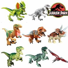 8pcs Jurassic World Park Movie Dinosaur Triceratops Tyrannosaurus Rex Velociraptor Minifigures Model Building Blocks Kids Toys #>=#>=#>=#>=#> Click on the pin to check out discount price, color, size, shipping, etc. Save and like it!