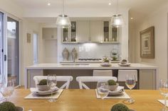 Omeo - Simonds Homes Simonds Homes, Neutral Colors, Colours, Beautiful Space, Living Spaces, New Homes, House Design, Dining, Interior Design