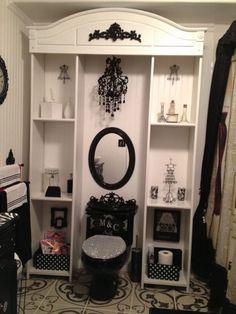 Girl's glam bathroom | Decor & DIY #bathroom interior| http://bathroommodernstyle.13faqs.com