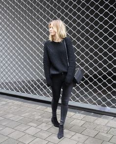 It's black ✔ find now online all the S A L E items! Happy weekend ❤ Shop at damoyantwerp.com #damoy #minimalism #black #antwerp #streetfashion
