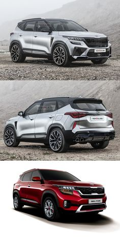 Back in June, Kia introduced the Seltos, a new compact SUV slotting between the Soul and the Sportage. Small Suv Cars, Sporty Suv, 4x4, Chevrolet Blazer, Fancy Cars, Kia Sportage, City Car, Unique Cars, Expensive Cars