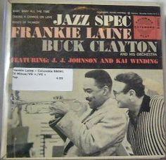 Frankie Laine ~ Columbia B 8081 45 EP w/ PS