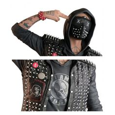 WATCH DOGS 2 WRENCH LEATHER JACKETS FOR SALE 1